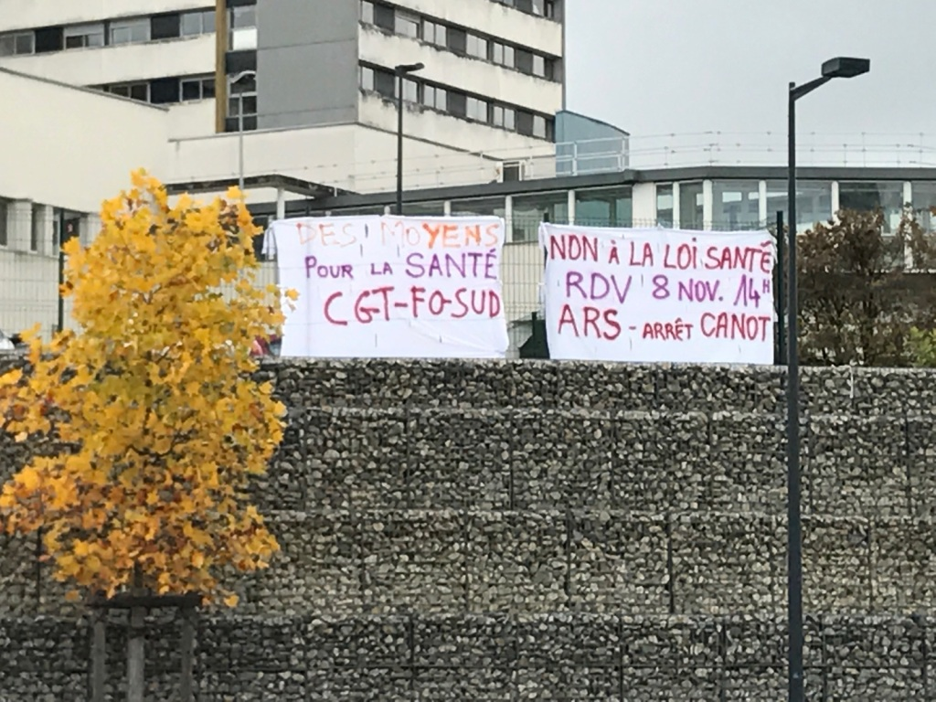 Le CHU de Besançon ce 7 novembre 2016